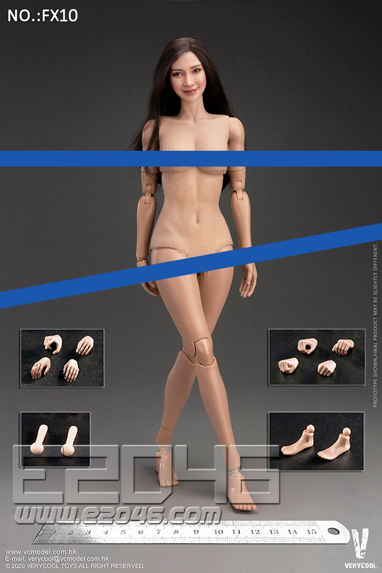 Head Sculpture And Body Set (DOLL)