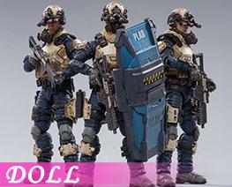 DL3569 1/18 Indigo Team (DOLL)