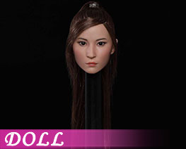 DL3793 1/6 亚洲美女头雕 B (人偶)