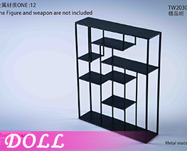 DL3988 1/6 Metal Table And Chair Scene C (DOLL)