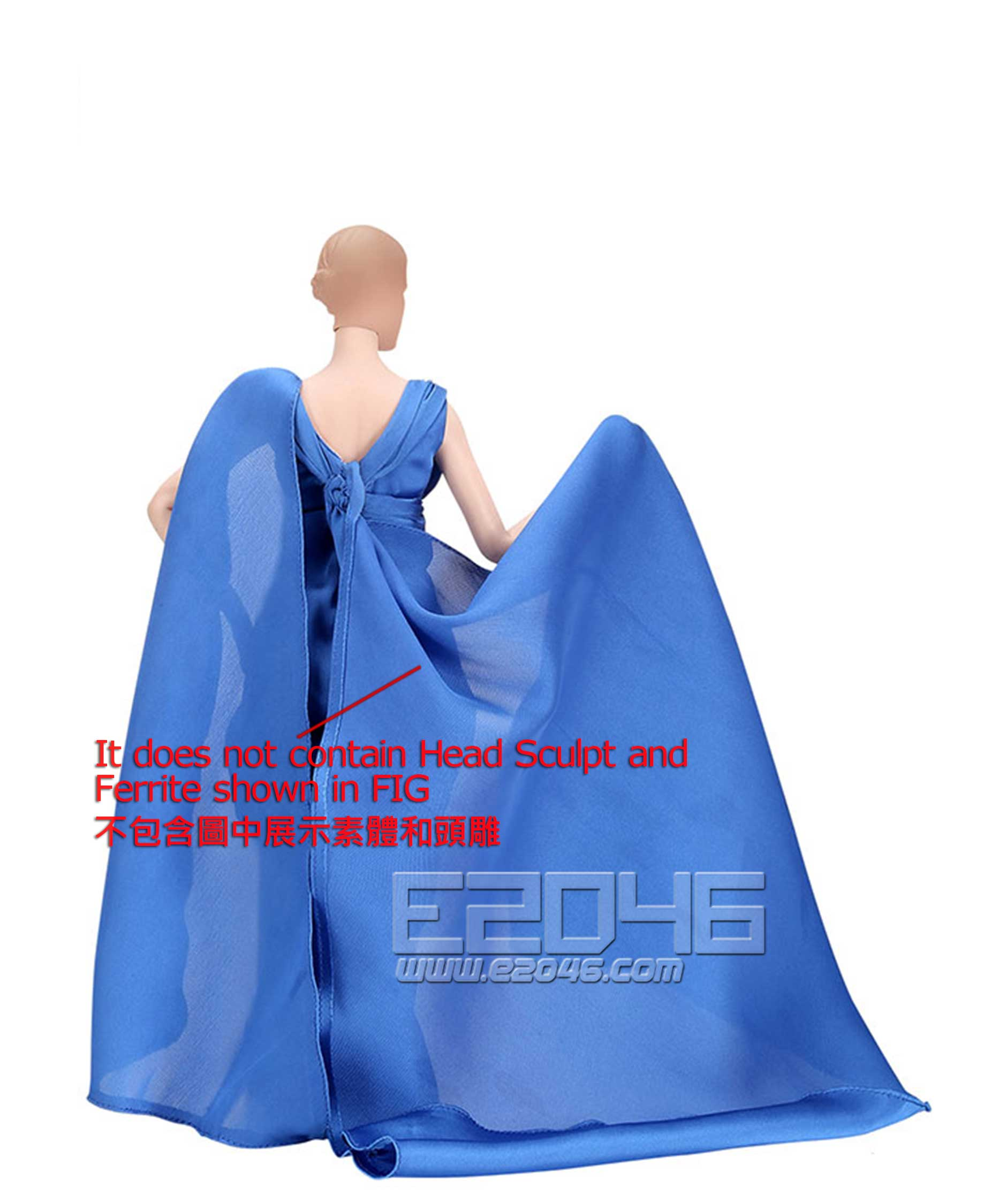 FULL EVENING DRESS A (DOLL)