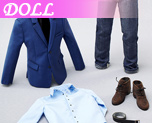 DL0316 1/6 Man's Suit (Dolls)
