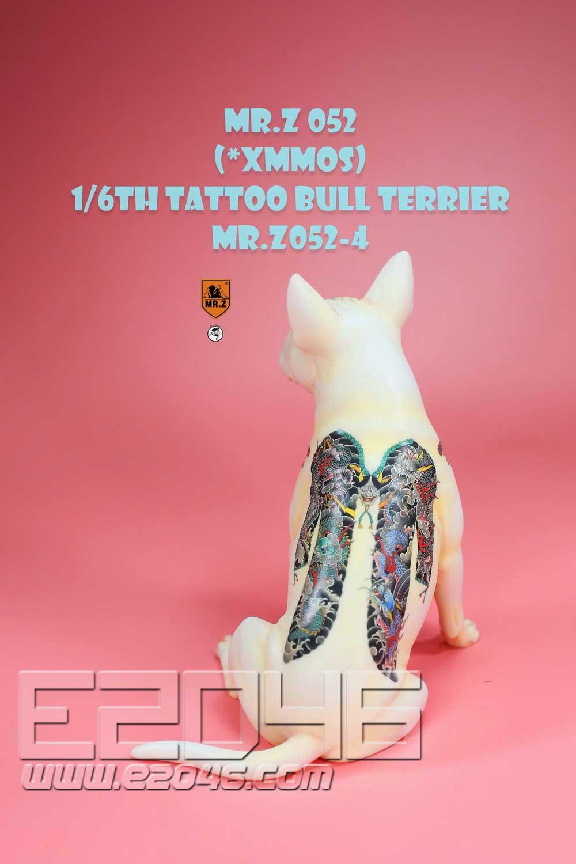 Tattoo Bull Terrier D (DOLL)