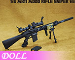 DL0691 1/6 Sniper Rifle black (Doll)