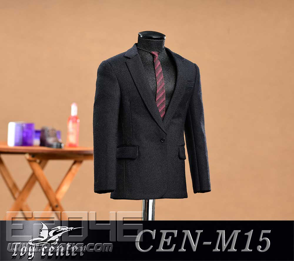 Black Casual Suit (DOLL)