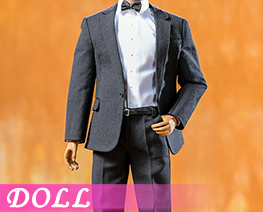 DL3961 1/6 Black Casual Suit (DOLL)