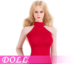 DL1923 1/6 Sexy lady double slit skirt suit F (DOLL)