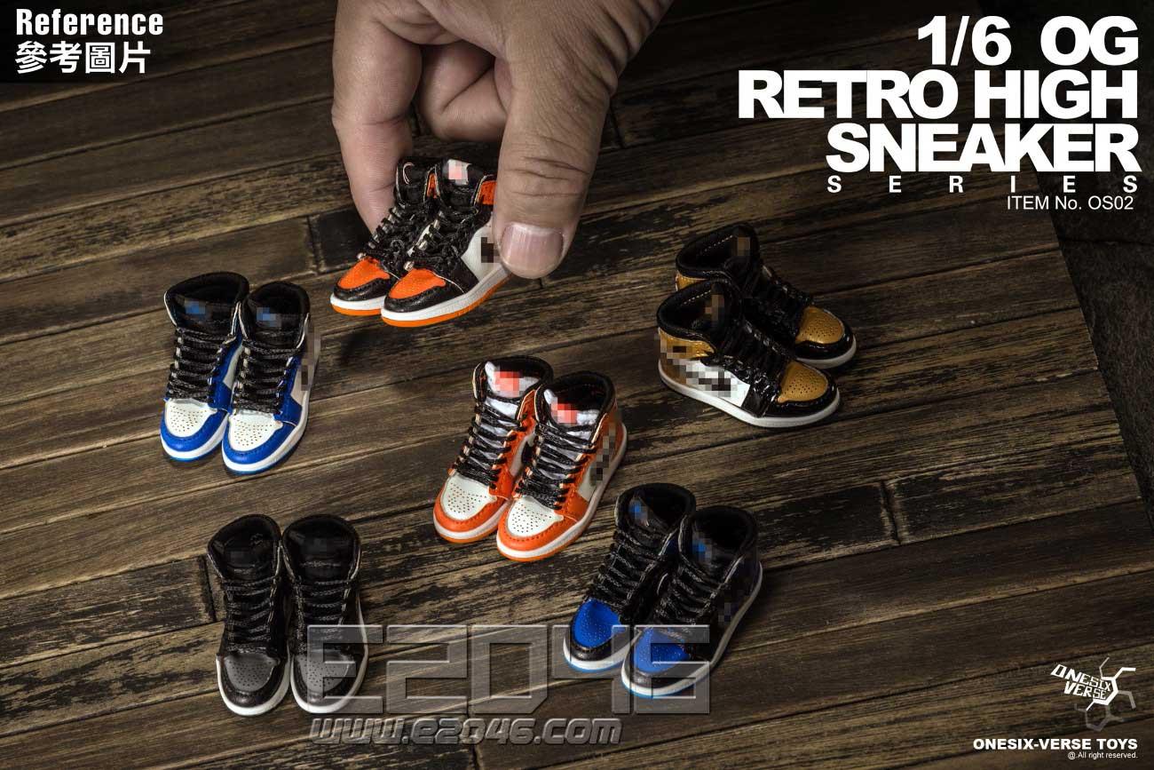 OG Retro High Sneaker Serise F (DOLL)
