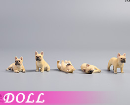 DL4462 1/12 French Bulldog D (DOLL)