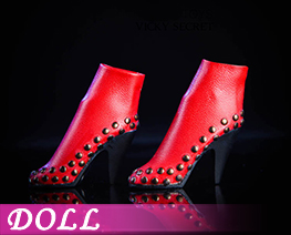 DL1687 1/6 Rivet booties C (DOLL)