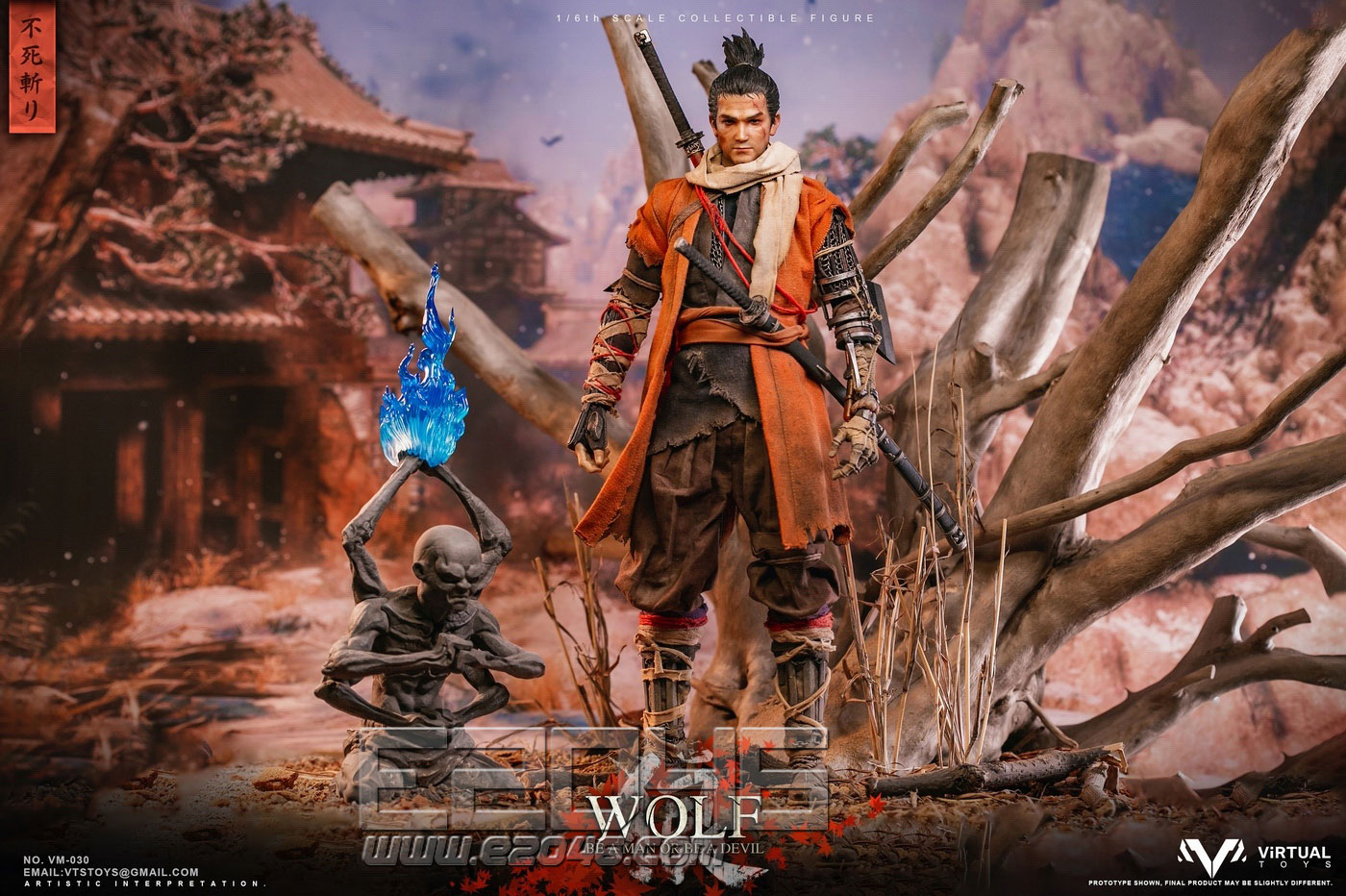 The Wolf Of Ashina Immortality Severed Version (DOLL)