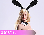 DL1099 1/6 Sexy Waitress Bunny Girl suit A (Doll)