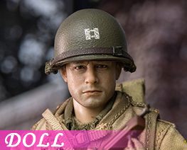 DL4346 1/12 Captain Of The US Army In World War II (DOLL)