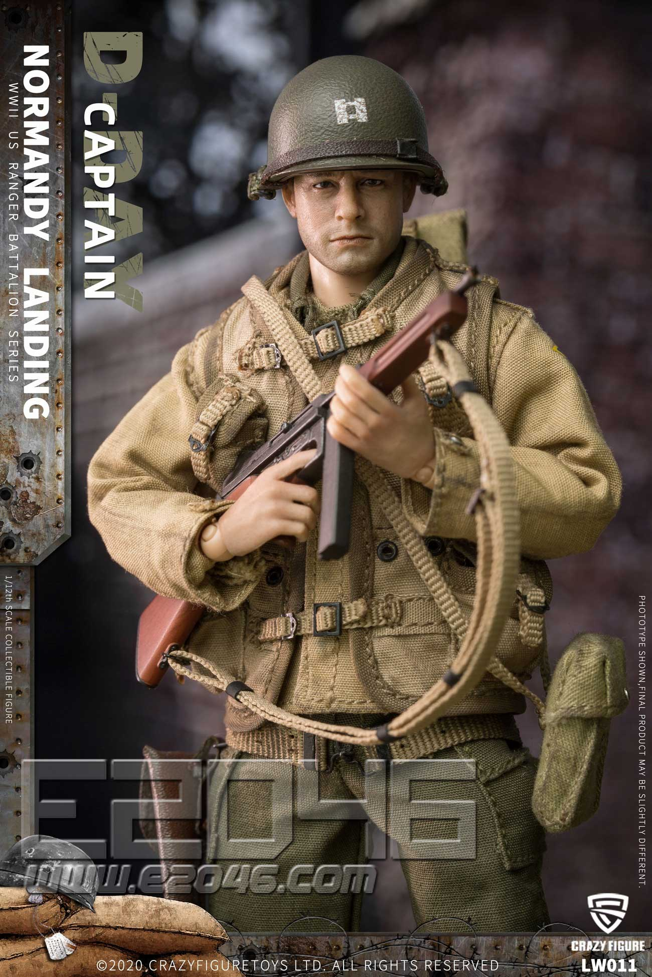 Captain Of The US Army In World War II (DOLL)