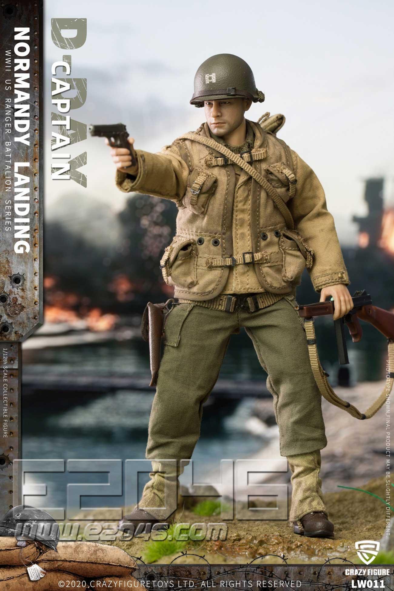 二战美军上尉 (人偶)
