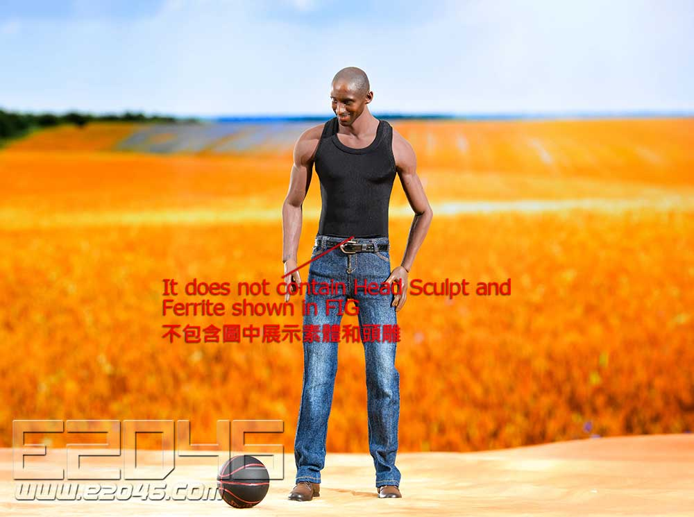 Black Vest Jeans Suit (DOLL)