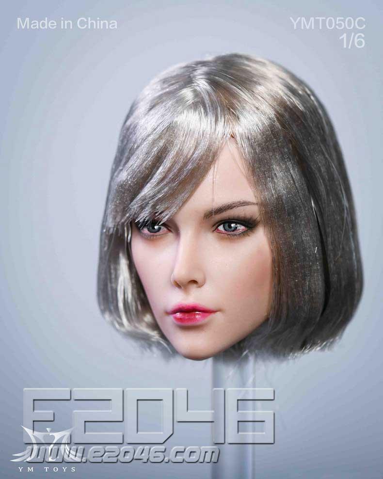 Female Head Sculpture C (DOLL)