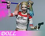 DL1218 1/6 Female Clown's Costume Set (Doll)