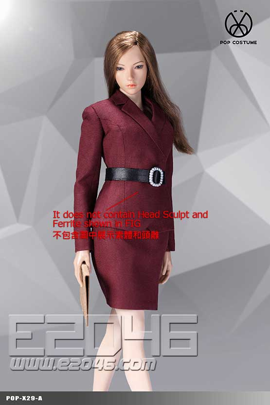 Female Suit Skirt Version A (DOLL)