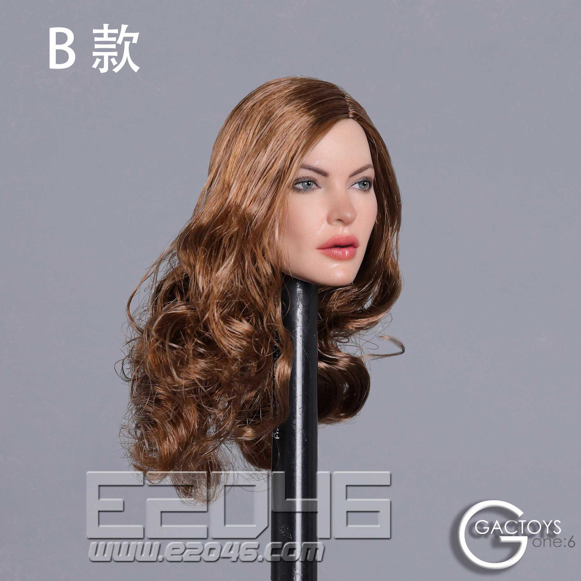 European and American Beauty Head Sculpt B (DOLL)