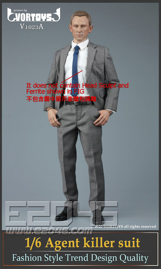 Male Agent Suit A (DOLL)
