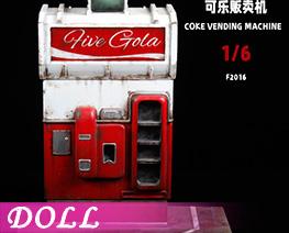 DL4464 1/6 Coke Vending Machine (DOLL)