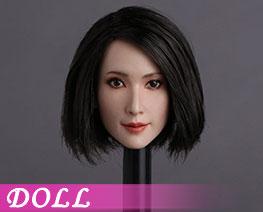 DL1280 1/6  Asian Actress Head Sculpt C (Doll)