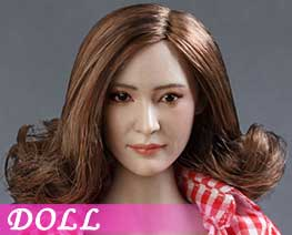 DL1418 1/6 Asian beauty head carving C (DOLL)