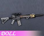 DL0873 1/6 SOPMOD II M4套装 A (人偶)