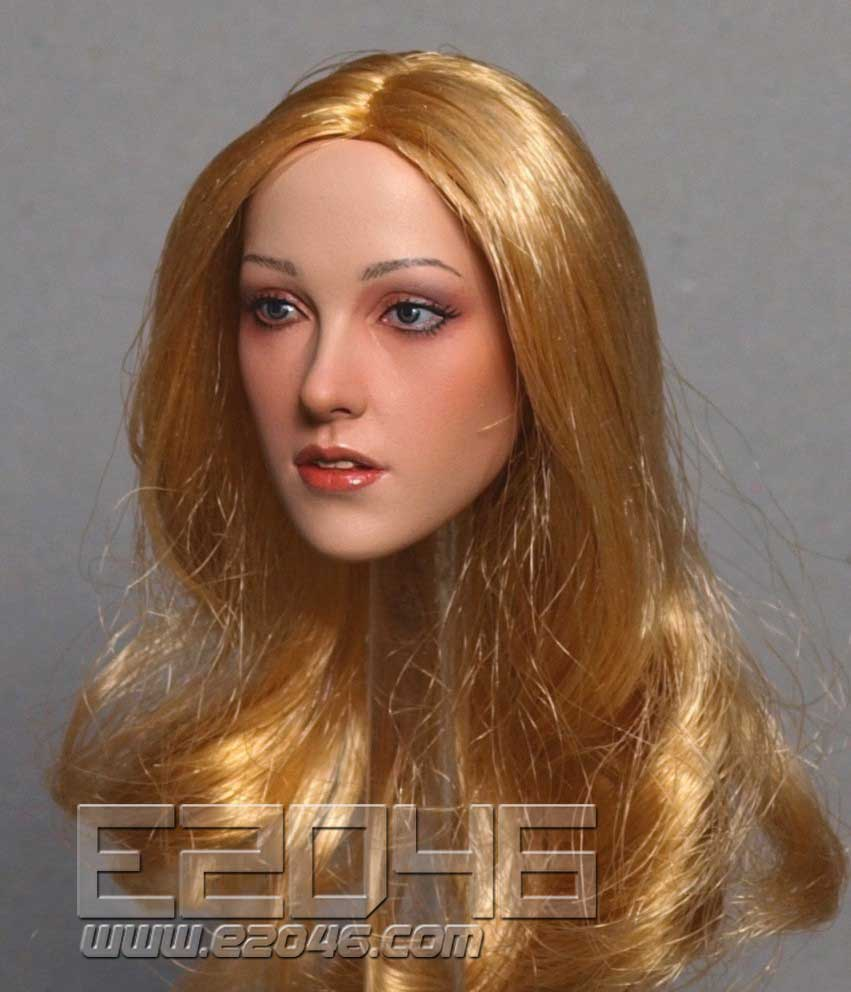 Asian Beauty Head Carving C (DOLL)