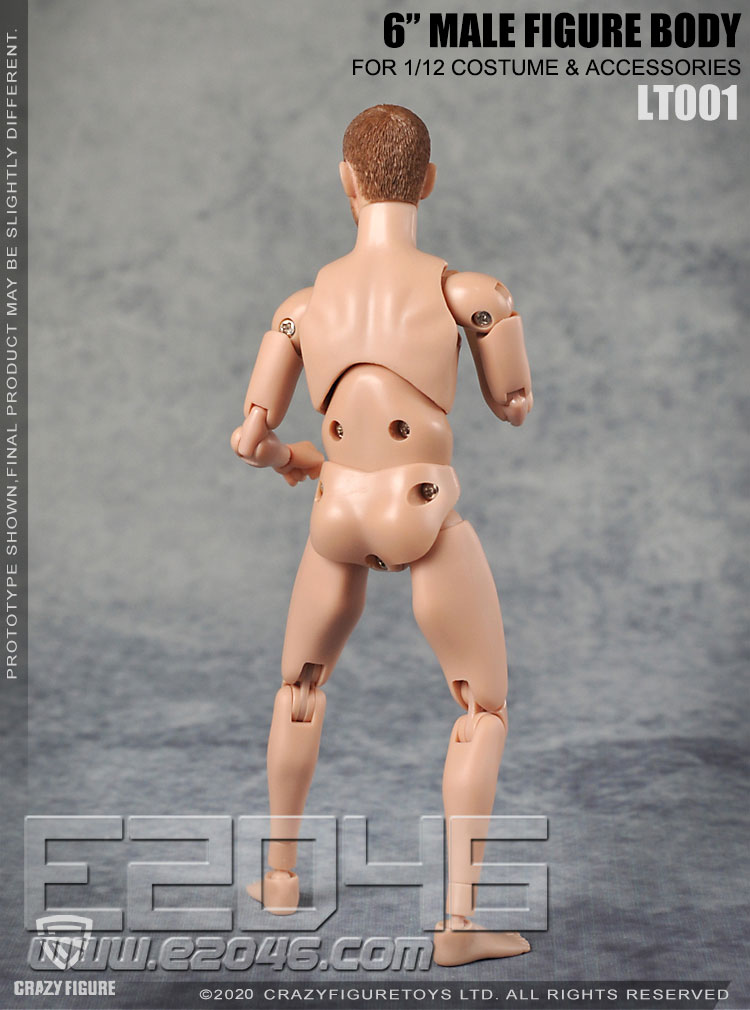 The Head Carves The Multi Joint Movable Male Body A (DOLL)