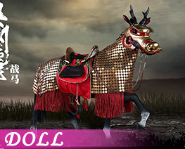 DL3877 1/6 Ozhou Li Warhorse Deluxe Version (DOLL)