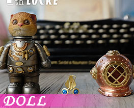 DL3116  Locke Cat Silver (DOLL)