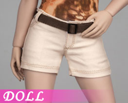 DL3162 1/6 Female Shorts Tan Version (DOLL)
