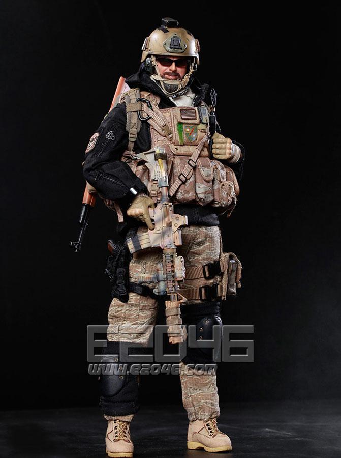 Team member of the USA 75th Ranger Regiment in Afghanistan (Doll)