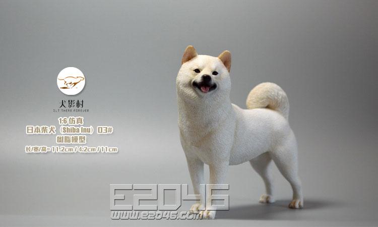 Shiba Inu White (DOLL)