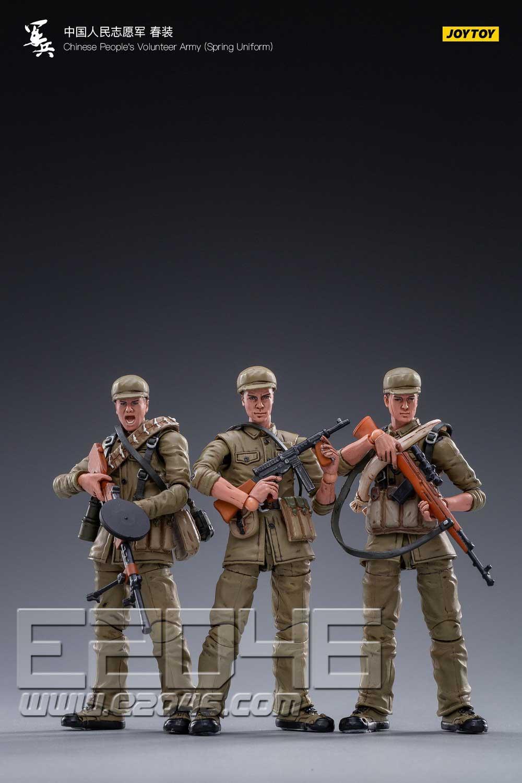 Chinese people's Volunteer Army Spring Uniform (DOLL)