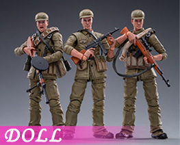 DL4891 1/18 Chinese people's Volunteer Army Spring Uniform (DOLL)