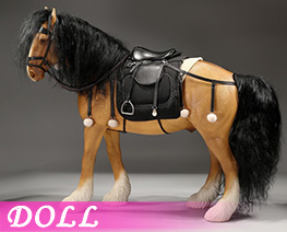 DL4639 1/6 Shire Horse 2.0 B Set (DOLL)