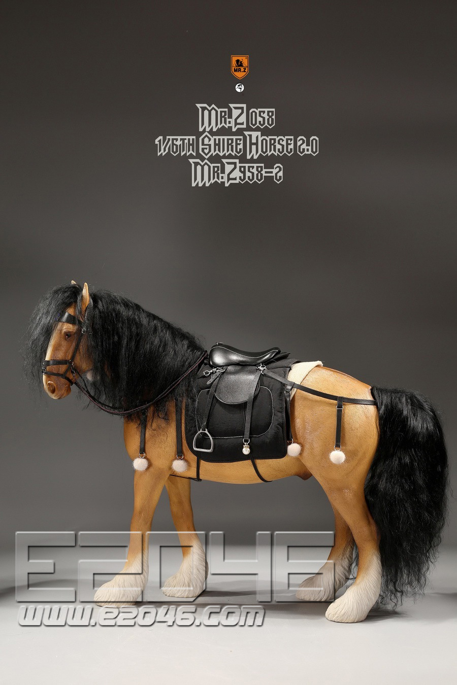 Shire Horse 2.0 B Set (DOLL)