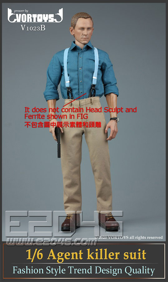 Male Agent Suit B (DOLL)
