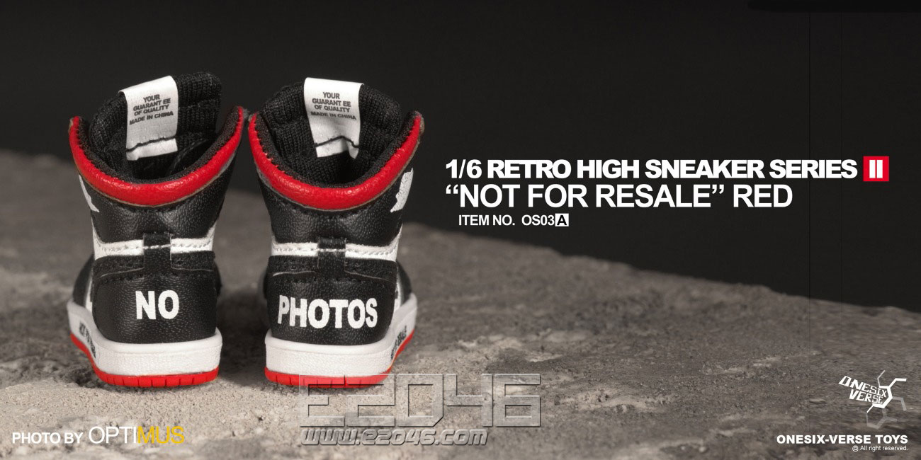 Retro High Sneaker A (DOLL)