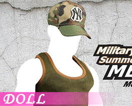 DL0437 1/6 Military Style Summer Outfits  MEN B (Doll)