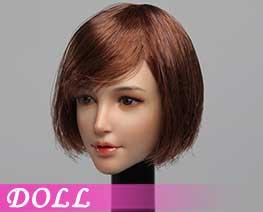 DL1546 1/6 Female head carvings A (DOLL)