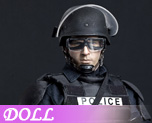 DL0315 1/6 Riot Police B (Dolls)