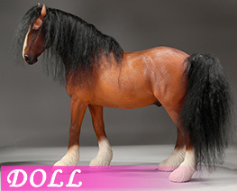 DL4636 1/6 Shire Horse 2.0 A (DOLL)