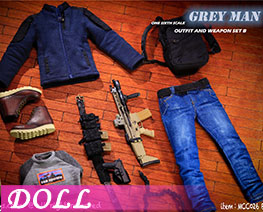 DL2804 1/6 Outfit And Weapon Set B (DOLL)