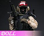 DL1203 1/6 Seal Team 5 VBSS Team Commander (Doll)