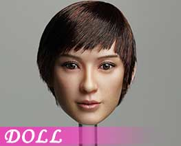 DL1584 1/6 Female head C (DOLL)