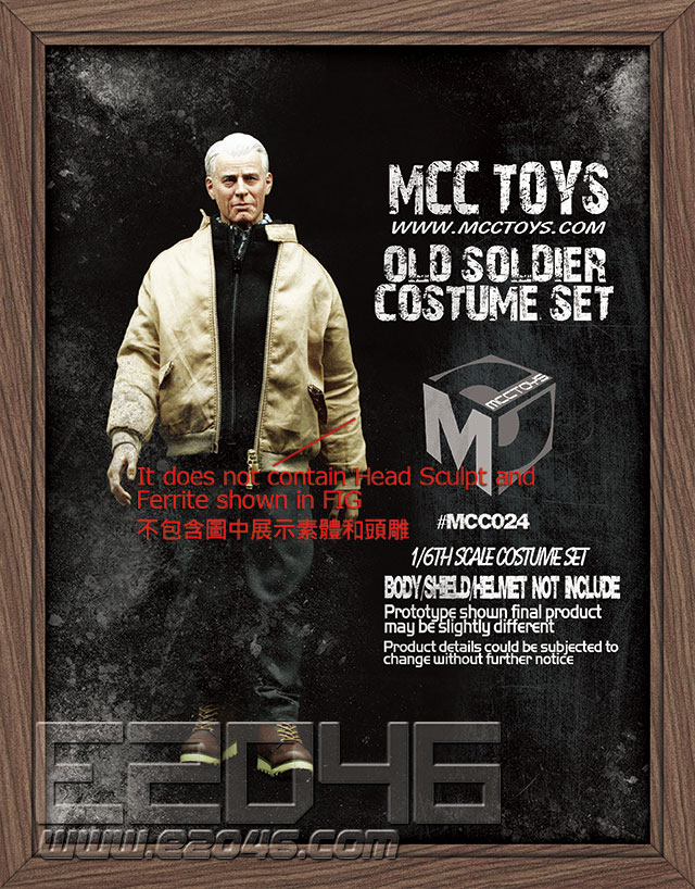 Old Soldier Costume Set (DOLL)